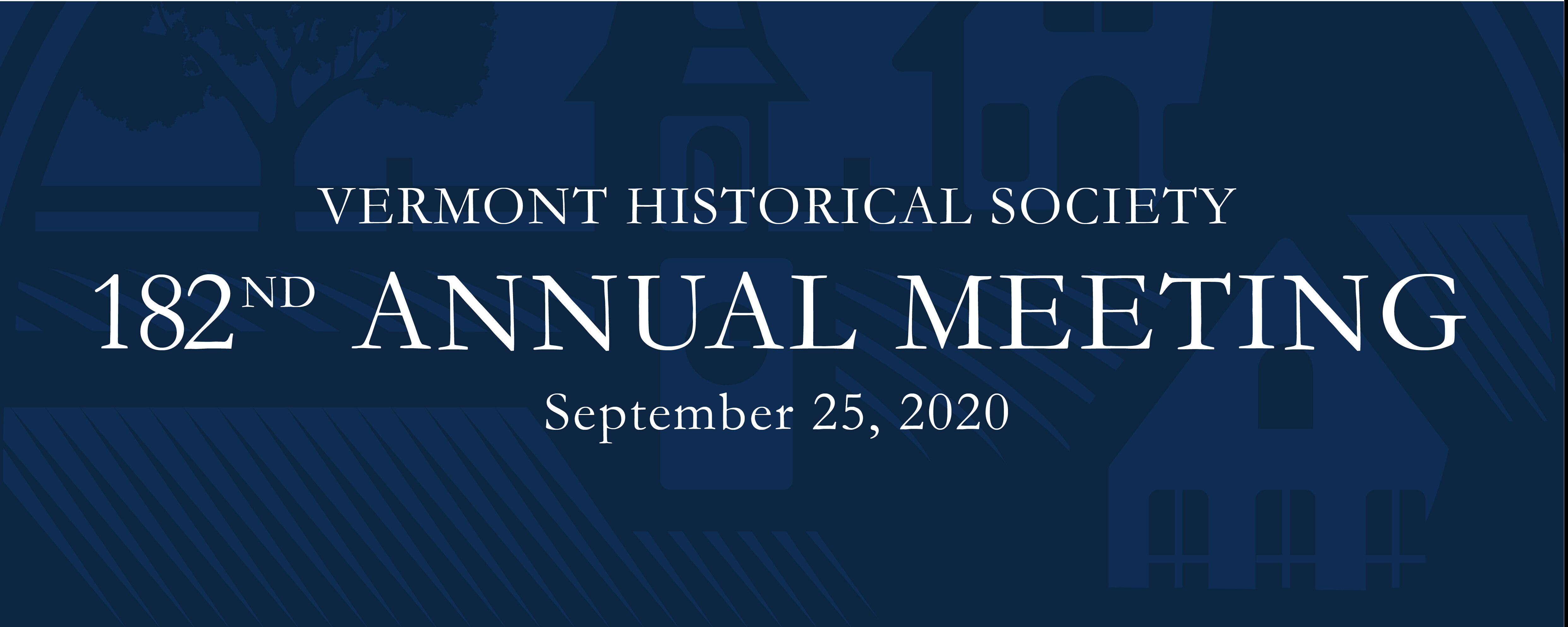 182nd Annual Meeting