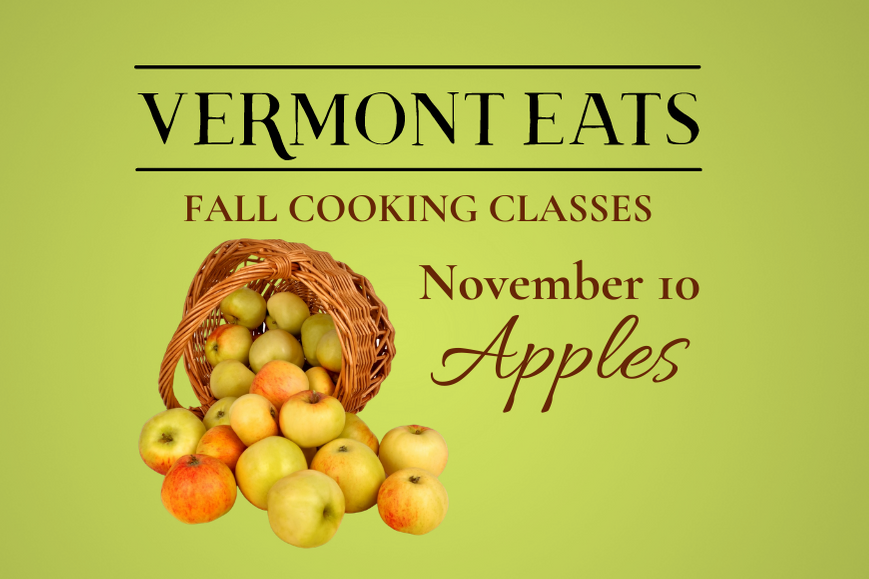 Fall Cooking Class: Apples