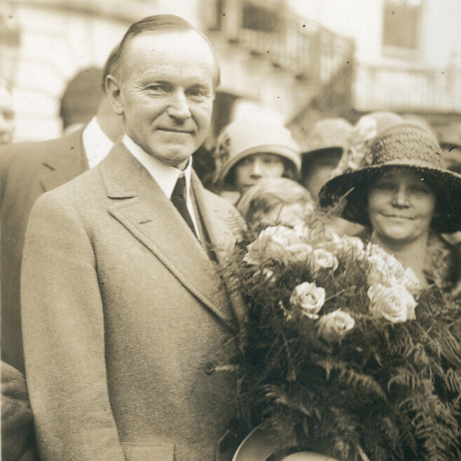 Photograph of Calvin Coolidge