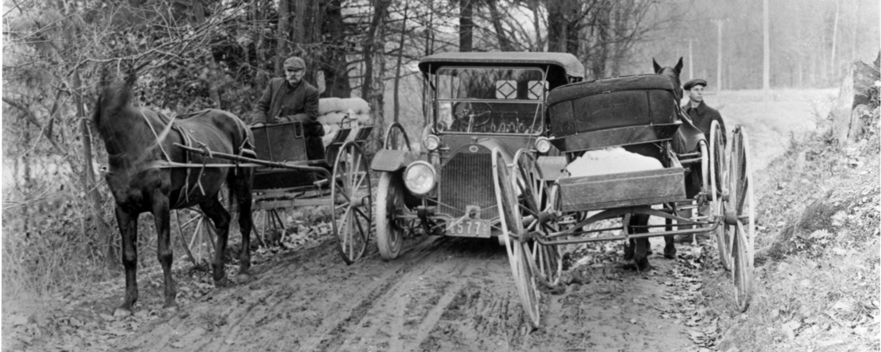 Early Autos in Vermont, 1902 — Vermont Historical Society