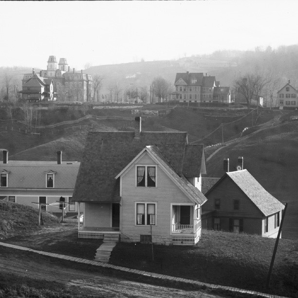 Photograph of Vermont College from Fuller St.