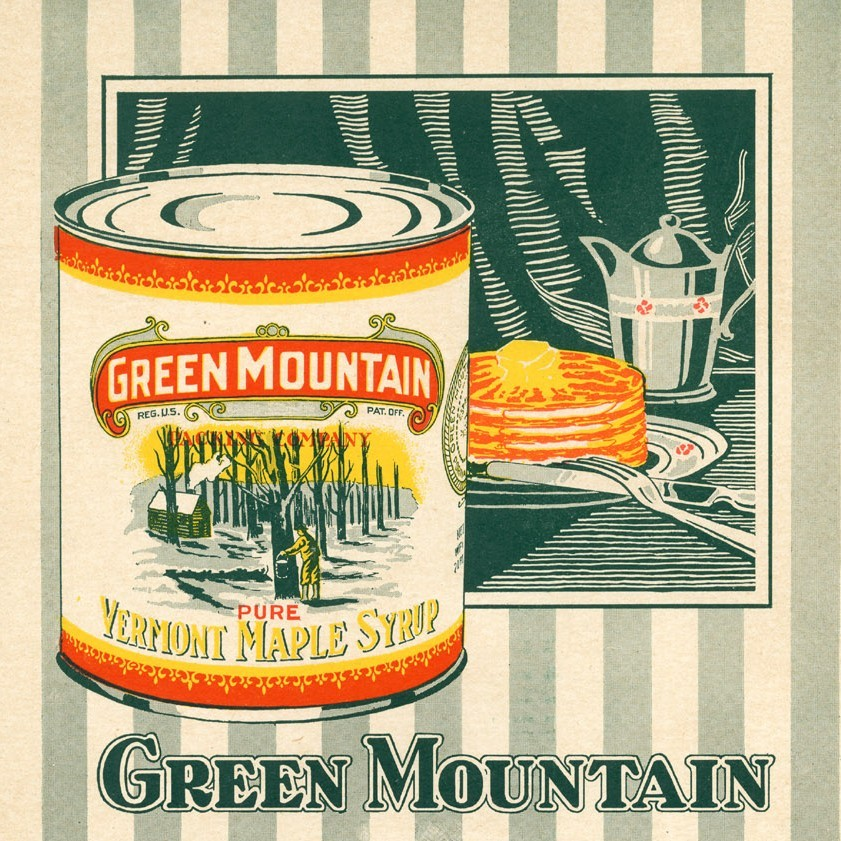 Green Mountain Maple Syrup poster