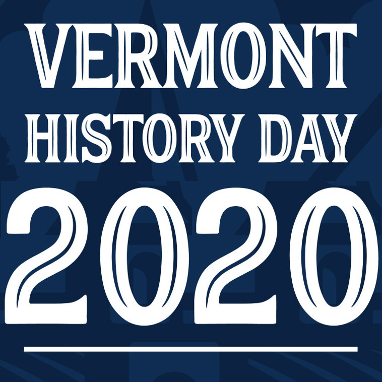 Vermont History Day logo 2020