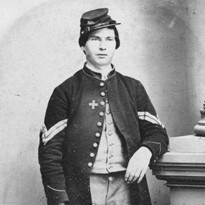 Photo of Civil War soldier