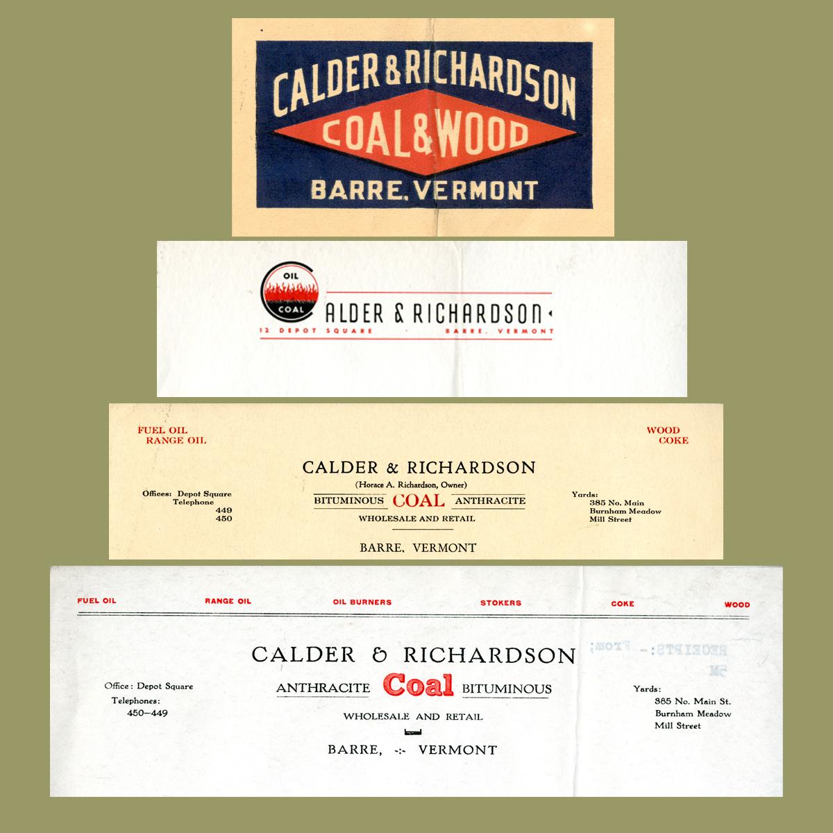 Calder & Richardson Logos