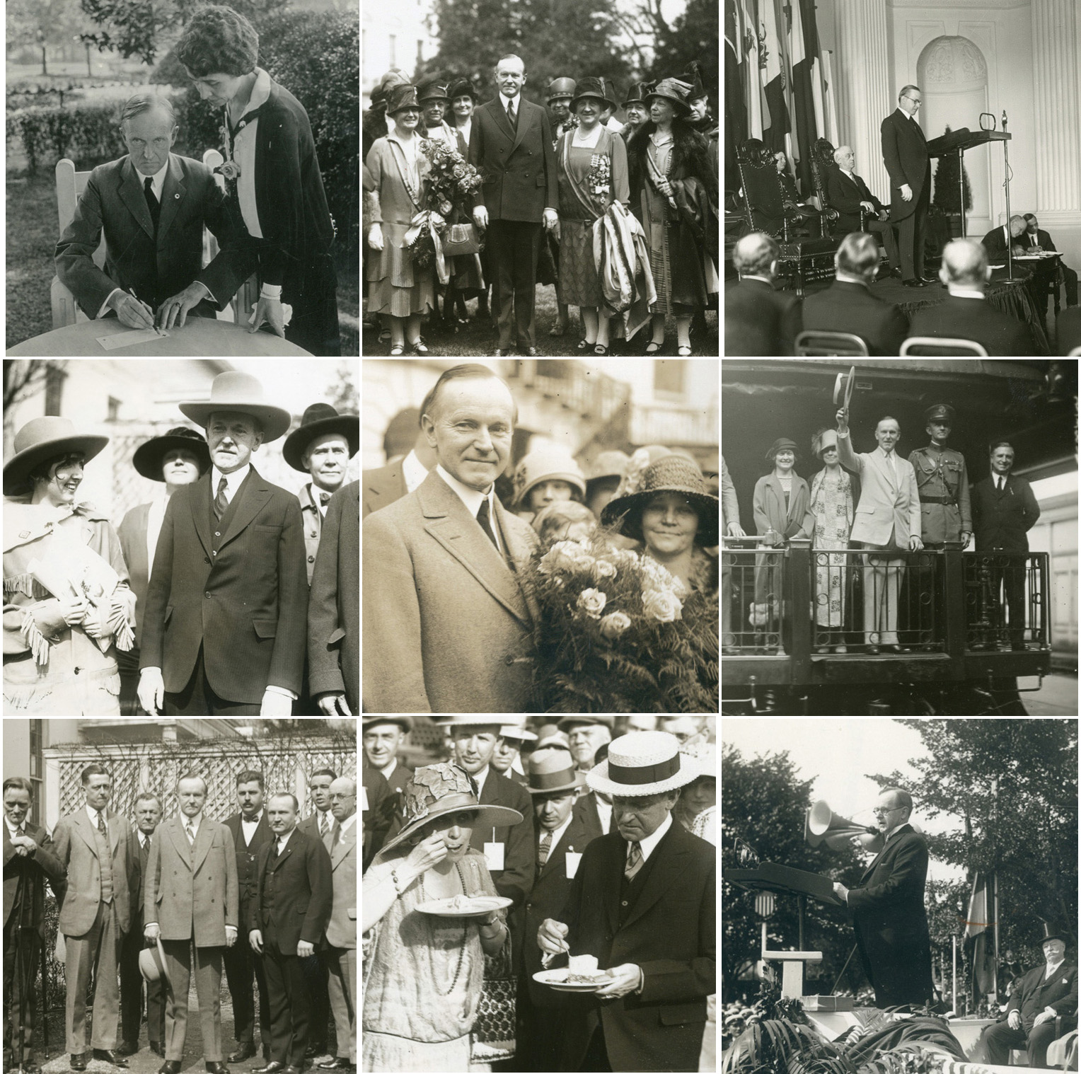 Coolidge Presidential Photos