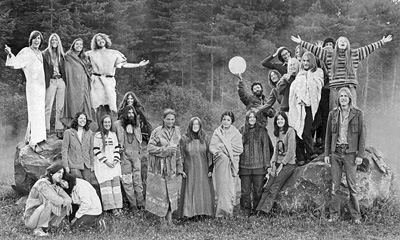 Goddard College Students, 1971